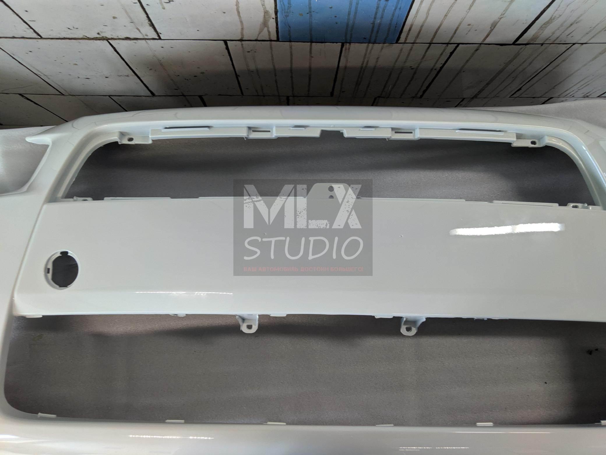 Новый бампер Lancer X