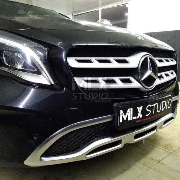 Mercedes-Benz GLA 250 (2017 г.в.). Шумоизоляция арок + двери