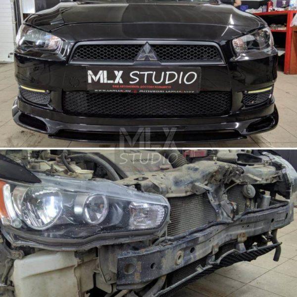 "Mitsubishi Lancer X (2007 г.в.) Часть проекта Big Project #7 – ""Автосвет"""