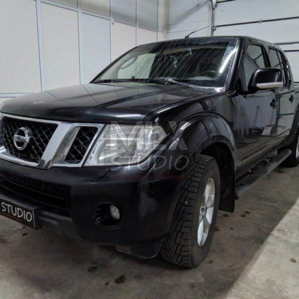 Nissan Navara. Шумоизоляция.