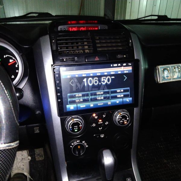 Магнитола 9″ ОС Android на Suzuki Grand Vitara (2008 г.в.)
