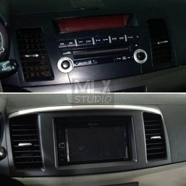Mitsubishi Lancer X. Замена звука.