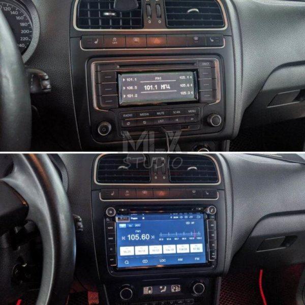 Штатное ГУ на Android для Volkswagen Polo Sedan (2013 г.в.)