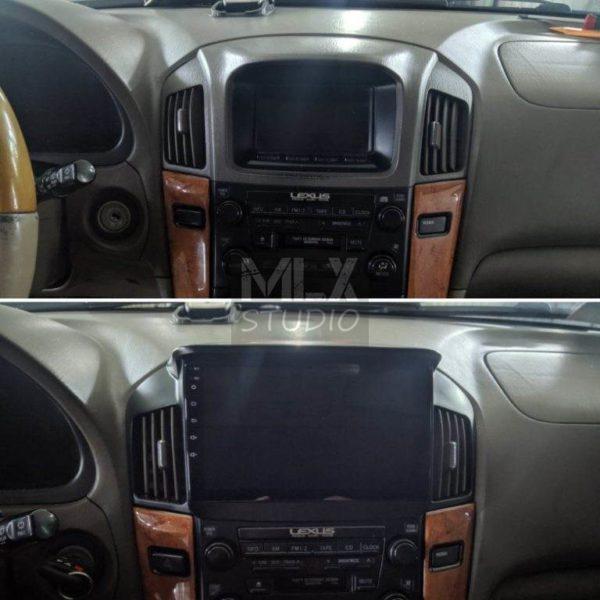Замена штатного ГУ на ГУ на Android Lexus RX 300 (2002 г.в.)
