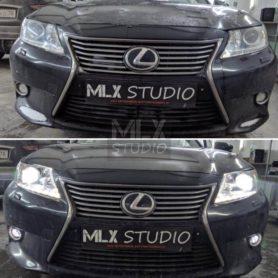 BI-LED AOzoom на Lexus ES 250