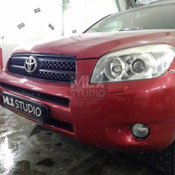 Светодиодные линзы Optima mini GTR 2.8″Toyota RAV4 (2006 г.в.)