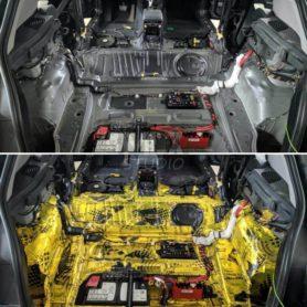 BMW 118i. Шумоизоляция