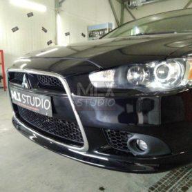 Mitsubishi Lancer X. BI-LED!