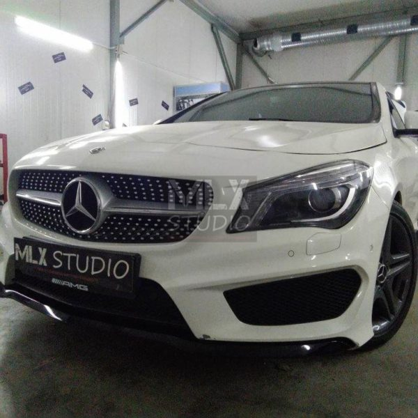 Mercedes-Benz CLA 200 (2014 г.в.). Покраска суппортов.