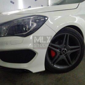 Mercedes-Benz CLA 200. Покраска суппортов.