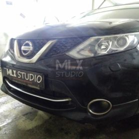 Nissan Qashqai. Магнитола 10″