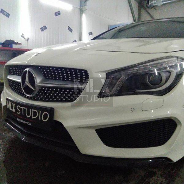 Mercedes-Benz CLA 200 (2014 г.в.). Светодиодные линзы.