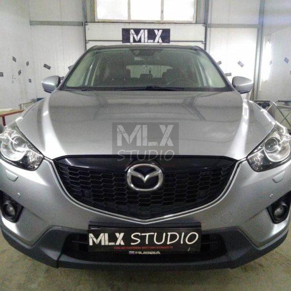 Mazda CX-5 (2013 г.в.). Замена штатного головного устройства на магнитолу Android