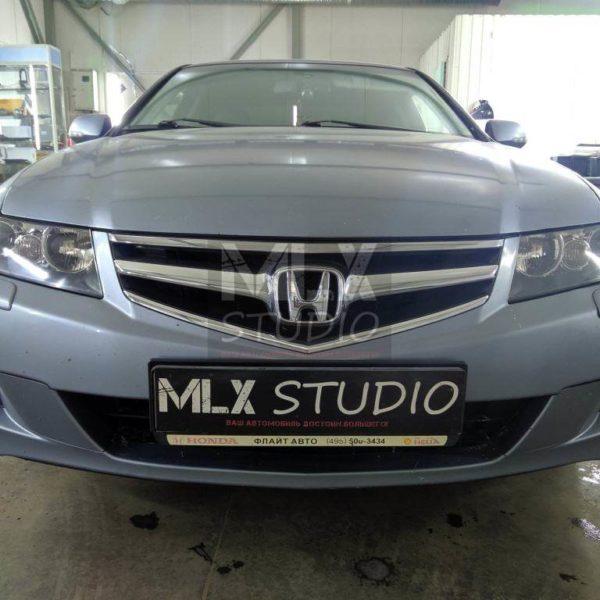 Honda Accord VII (2006 г.в.), светодиодные би-линзы