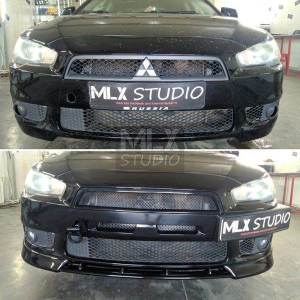 Mitsubishi Lancer X (2009 г.в.).Еще вариант стайлинга.