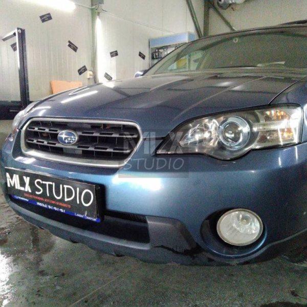 Subaru Outback (2005 г.в.). Светодиодные линзы.