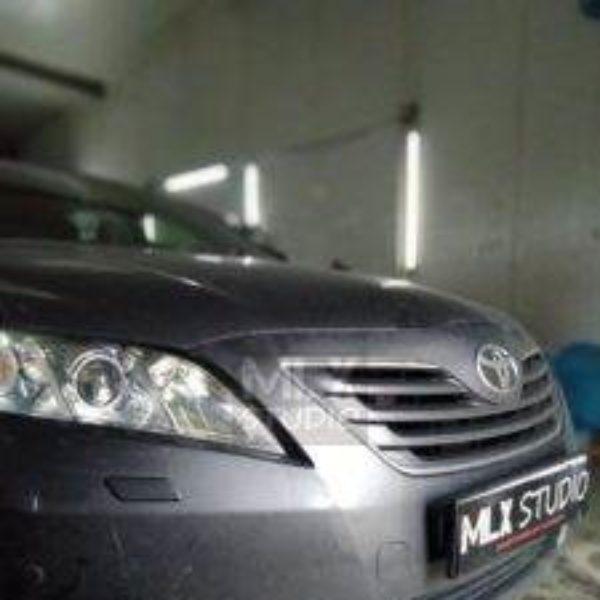 Toyota Camry V40 (2010 г.в.). Светодиодные линзы