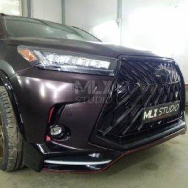 Toyota Highlander IV. Покраска суппортов